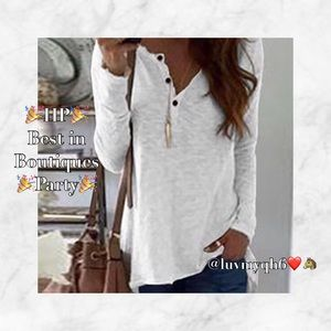 Burnt-Out Long Sleeve Top 🎉HP🎉